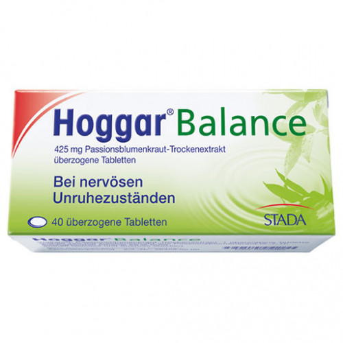 HOGGAR Balance überzogene Tabletten 40 St
