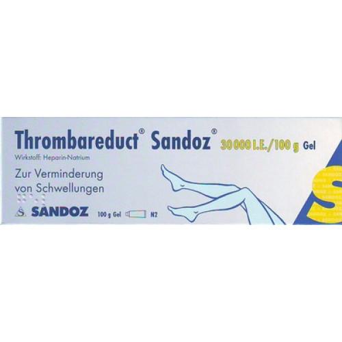 THROMBAREDUCT Sandoz 30.000 I.E. Gel 100 g