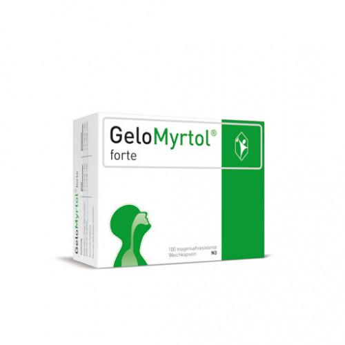 GELOMYRTOL Forte Magensaftresistente Weichkapseln 100 St