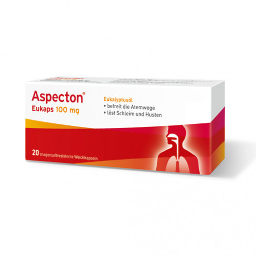 Aspecton Eukaps 100 mg Kapseln 20 St