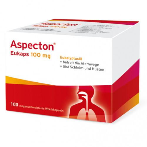 ASPECTON Eukaps 100 Mg Magensaftres.Weichkapseln 100 St