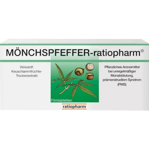 MÖNCHSPFEFFER Ratiopharm Filmtabletten 100 St