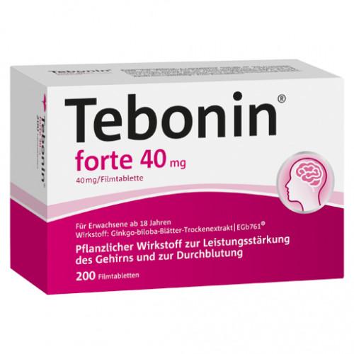 TEBONIN Forte 40 Mg Filmtabletten 200 St