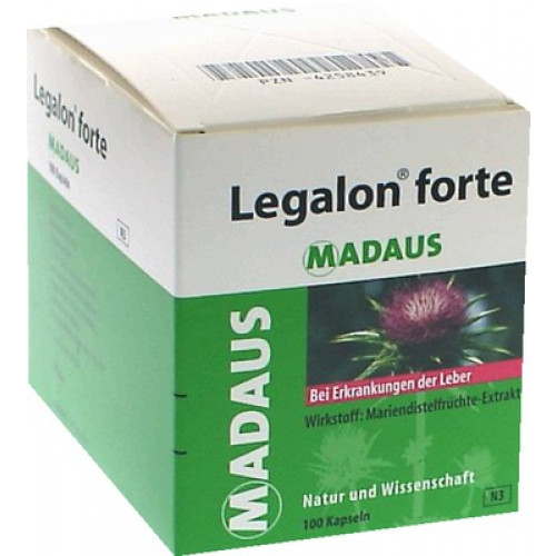 LEGALON Forte Hartkapseln 100 St