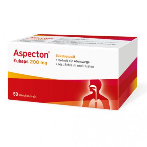 ASPECTON Eukaps 200 Mg Weichkapseln 50 St