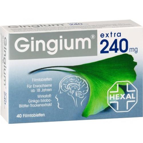 GINGIUM Extra 240 Mg Filmtabletten 40 St