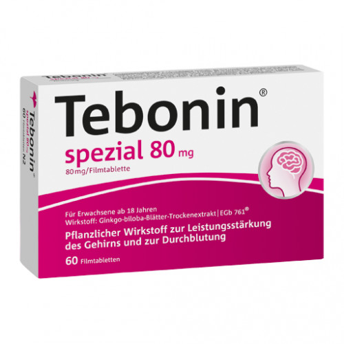 TEBONIN Spezial 80 Mg Filmtabletten 30 St