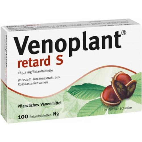 VENOPLANT Retard S Retardtablette 100 St