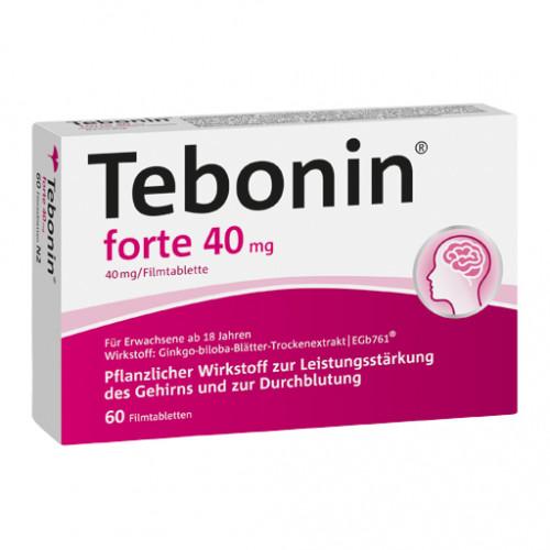 TEBONIN Forte 40 Mg Filmtabletten 60 St