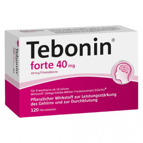 TEBONIN Forte 40 Mg Filmtabletten 120 St