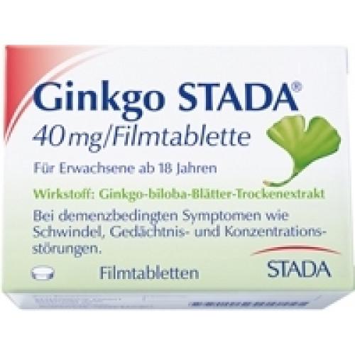 GINKGO STADA 40 Mg Filmtabletten 120 St
