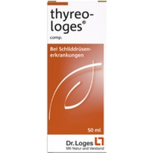 TTHYREO LOGES Comp. Tropfen 50 ml