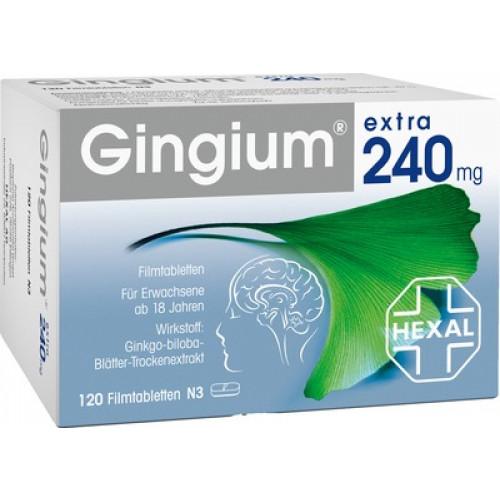 GINGIUM Extra 240 Mg Filmtabletten 120 St