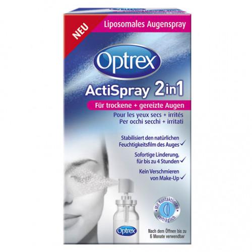 OPTREX ActiSpray 2in1 F.trockene+gereizte Augen