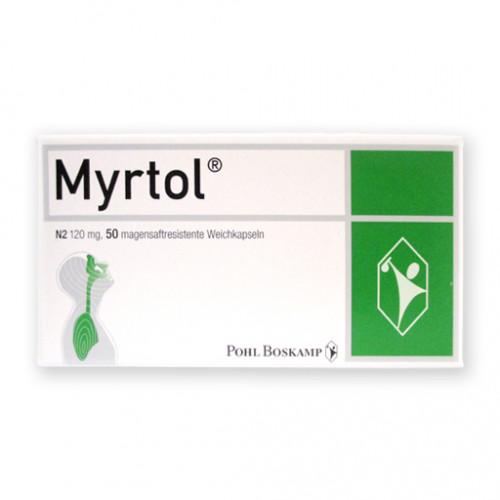 MYRTOL Magensaftresistente Weichkapseln 50 St