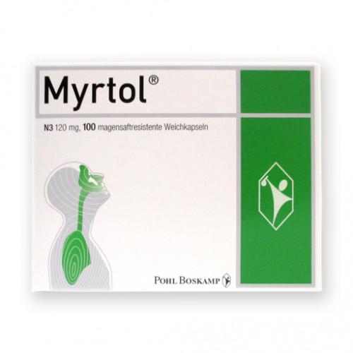 MYRTOL Magensaftresistente Weichkapseln 100 St