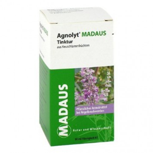 AGNOLYT MADAUS Tinktur Aus Keuschlammfrüchten 50 ml