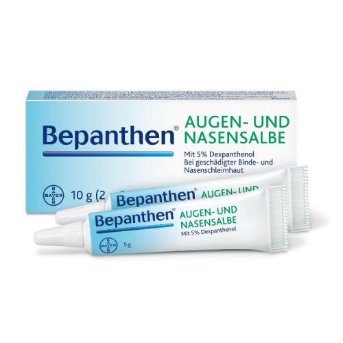 Bepanthen AUGEN- UND NASENSALBE 2 x 5 g