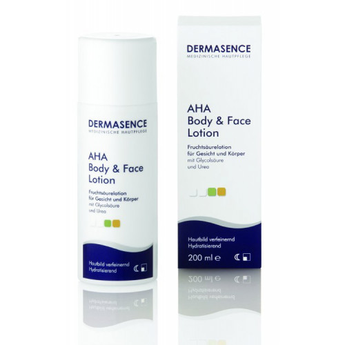 DERMASENCE AHA Body and Face Lotion 200 ml