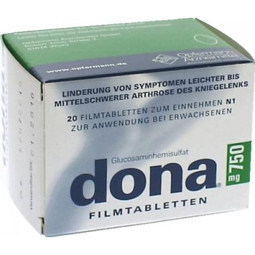 DONA 750 Mg Filmtabletten 20 St