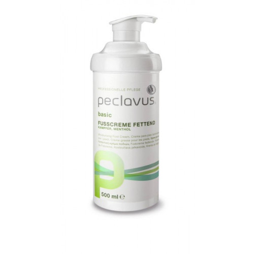 peclavus® basic Fußcreme fettend neu 500ml