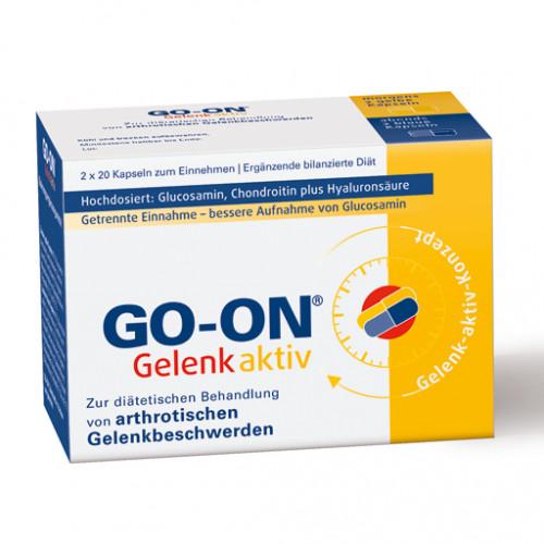 GO ON Gelenk Aktiv Kapseln      2X20 St