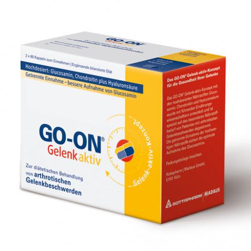 GO ON Gelenk Aktiv Kapseln      2X60 St