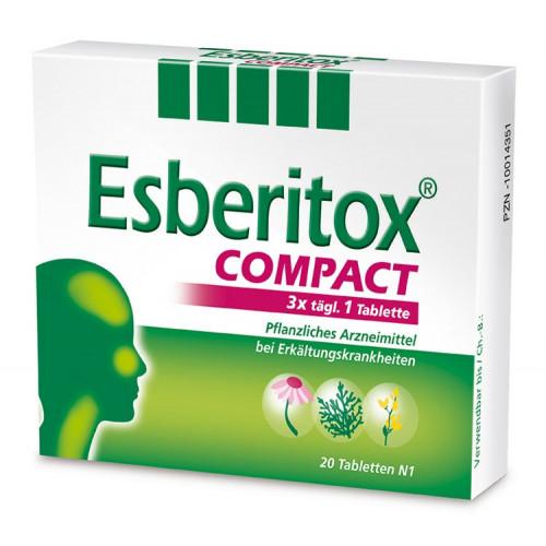 Esberitox COMPACT Tabletten 20 St