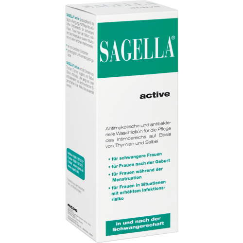 SAGELLA active Intimwaschlotion 100 ml