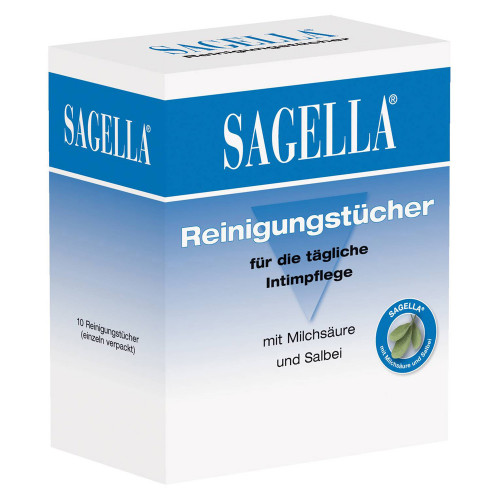 SAGELLA pH 3,5 Reinigungstücher 10 St.