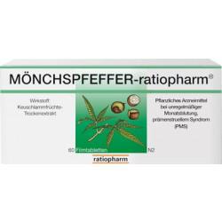 MÖNCHSPFEFFER Ratiopharm Filmtabletten 60 St