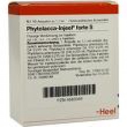 Phytolacca-Injeel forte S Ampullen 100St