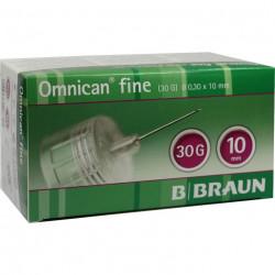 Omnican fine  Pen-Nadeln 0,30x10mm / VPE 100 St.