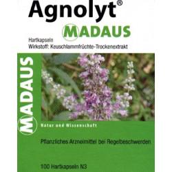 AGNOLYT MADAUS Hartkapseln 100 St