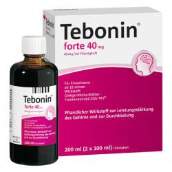 TEBONIN Forte 40 Mg Lösung 2X100 ml