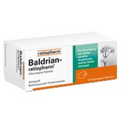 BALDRIAN RATIOPHARM überzogene Tabletten 60 St