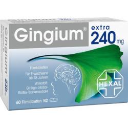 GINGIUM Extra 240 Mg Filmtabletten 60 St
