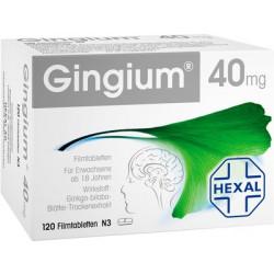 GINGIUM 40 mg Filmtabletten 120 Stück