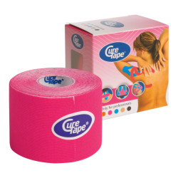 Cure Tape, 5 m x 5 cm, wasserfest, pink
