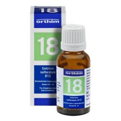 Biochemie Orthim Globuli 18 Calcium sulfuratum D 12 15g