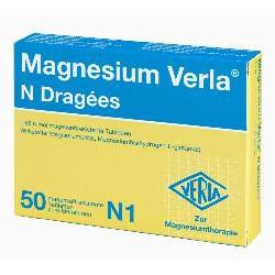 Magnesium Verla N Dragées 50St