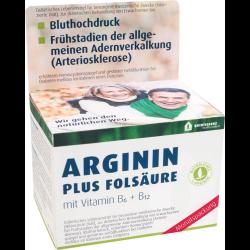 Arginin Plus Folsäure Kapseln 120St
