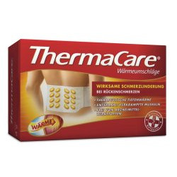 ThermaCare Rückenumschläge S - XL zur Schmerzlinderung 4St