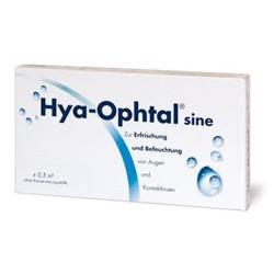 Hya-Ophtal sine Augentropfen Einzeldosispipetten 60x0,5ml