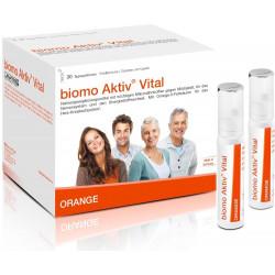 biomo Aktiv Vital Trinkflaschen 30 Tagesportionen 930g