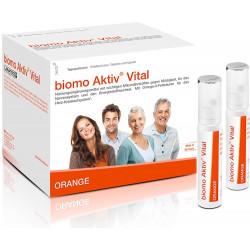 biomo Aktiv Vital Trinkflaschen 7 Tagesportionen 217g
