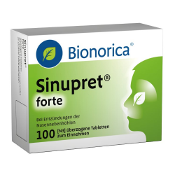 Sinupret forte Dragees Bionorica 100st