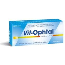 Vit-Ophtal mit 10 mg Lutein Tabletten