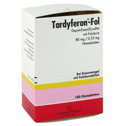 Tardyferon Fol Filmtabletten 100st
