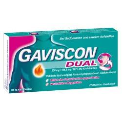 GAVISCON Dual 250mg/106,5mg/187,5mg Kautabletten 16St